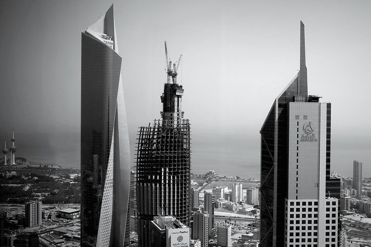 Skyscrapers in Kuwait City [Arab Reporters for Investigative Journalism (ARIJ)]