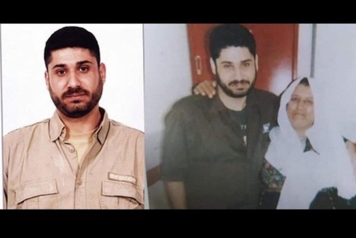 Palestinian prisoner Iyad Haribat [AhmadReida/Twitter]