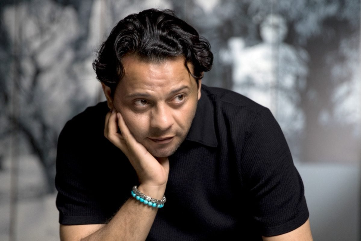 Palestinian artist Hazem Harb [Hazem Harb]