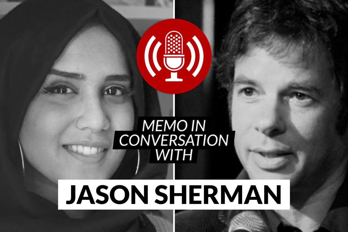 MEMO in conversation with Jason Sherman