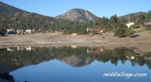 lake at walk