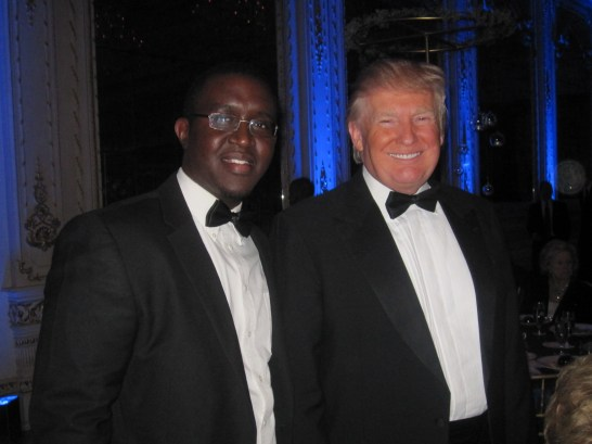 Mike Piolet & President Trump