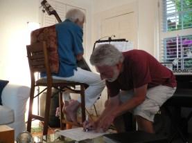 Jim Ryan & WG working out songs