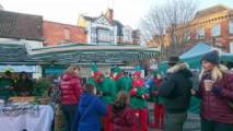 elves at glastonbury frost fayre