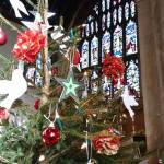 shining branches at st johns church glastonbury