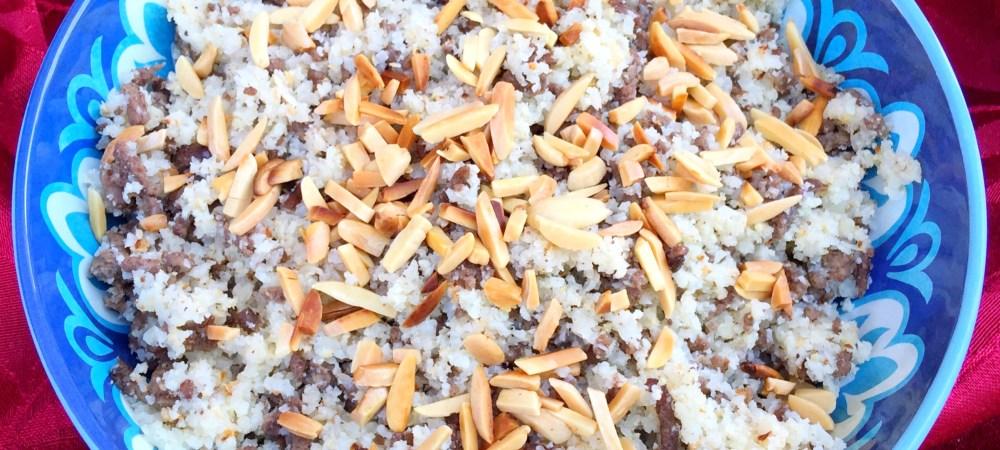 Paleo Middle Eastern Rice Stuffing- Hashwet Ruz