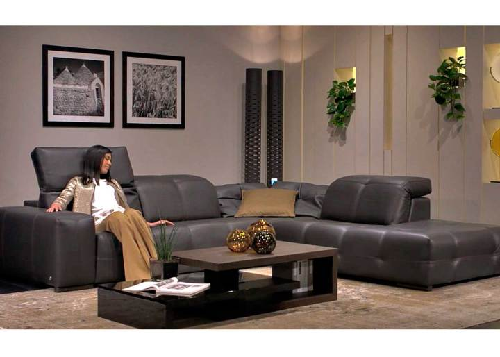 Natuzzi Surround Corner Sofa