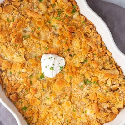 Cheesy Potato Casserole (Also known as Funeral Potatoes)