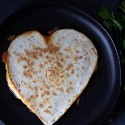 Heart Quesadilla