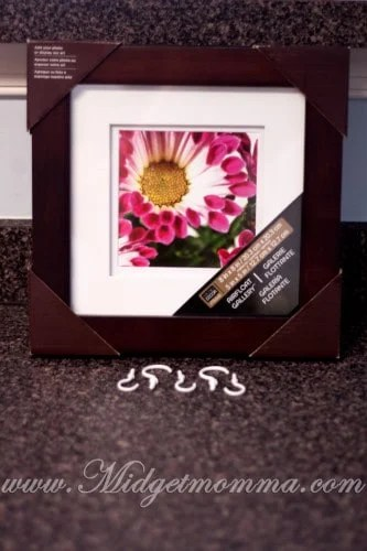 "What you need for ""Picture"" Perfect Key Rack Using a Framed Picture Tutorial"