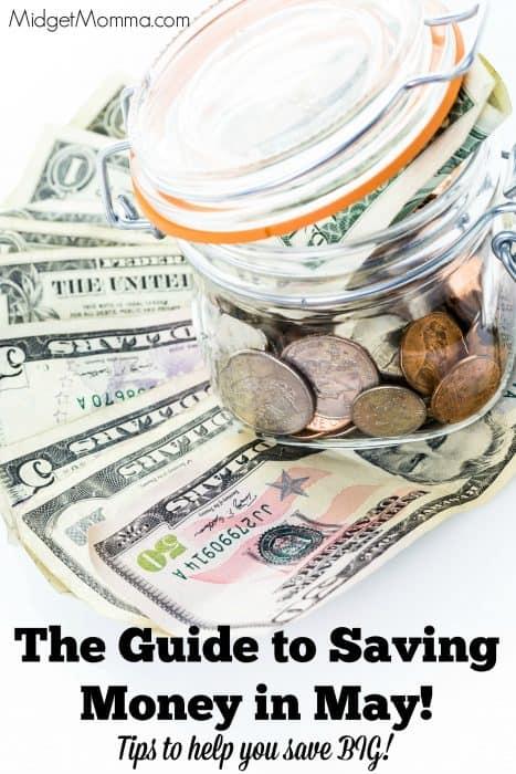 Saving money in may