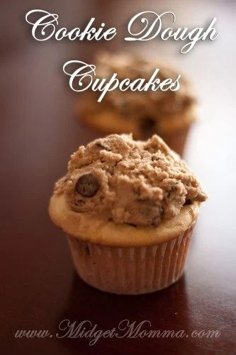 Cookie Dough cupcake Frosting Recipe