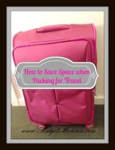 How to Save Space when Packing for Travel