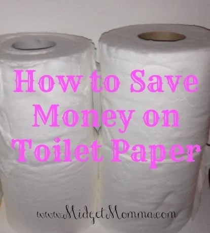 How to Save money on Toilet paper
