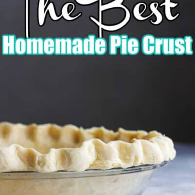 How to make a pie crust