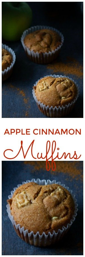 Whole Wheat Apple Muffins Recipe are the perfect treat your kids will surely gobble up. They have this great bite to them every time you bite an apple. #Apple #Cinnamon #muffin #muffinRecipe #appleRecipe #WholeWheatMuffins