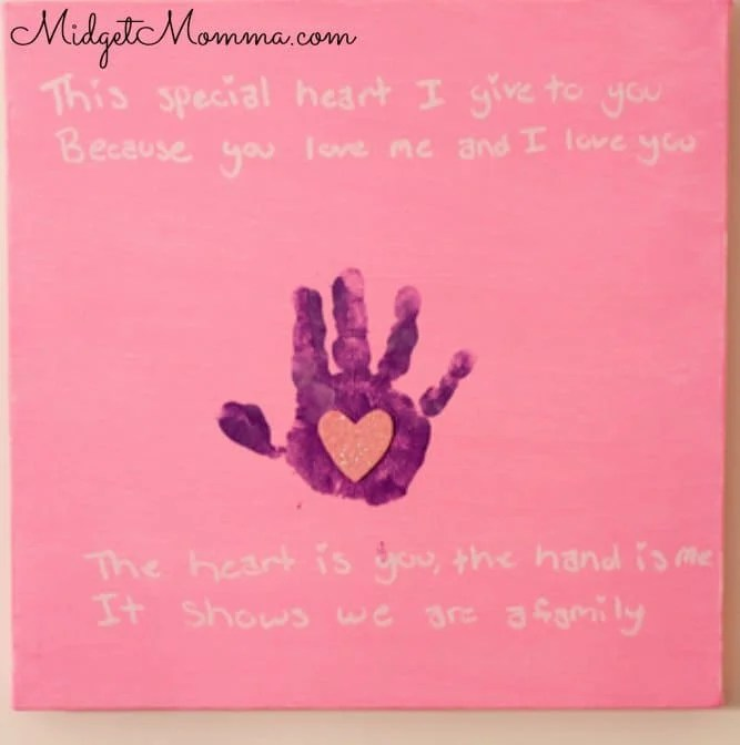 kids loving hand how to mother's day craft with kids hands