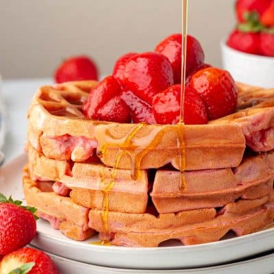 Strawberry Waffles