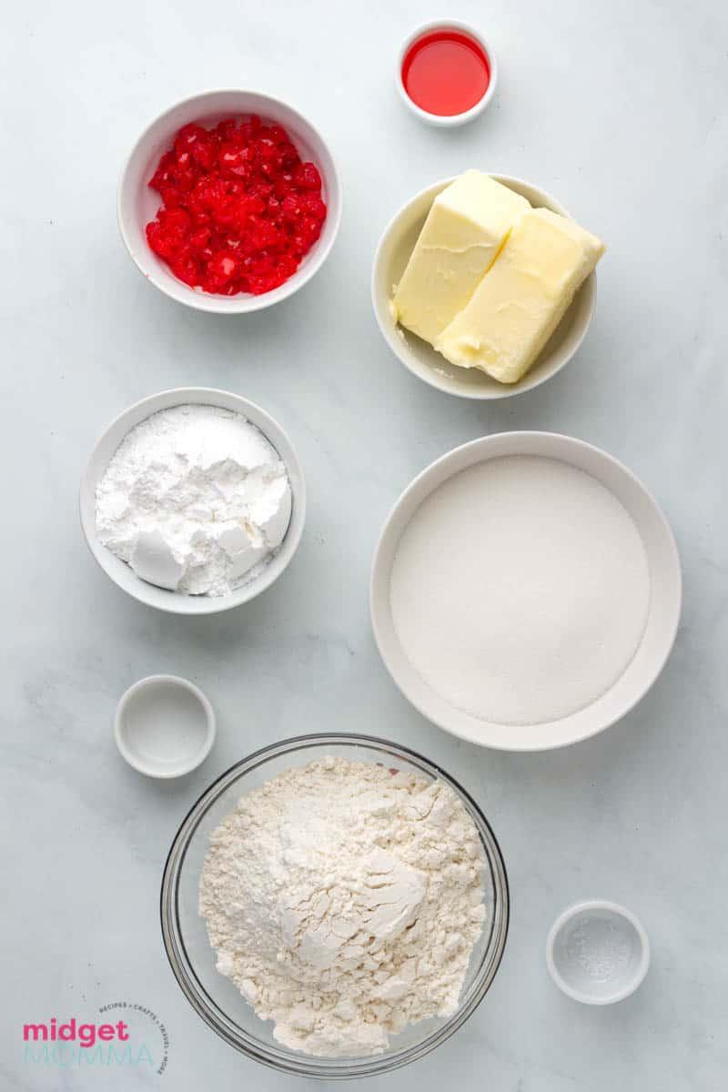 cherry kiss cookies ingredients