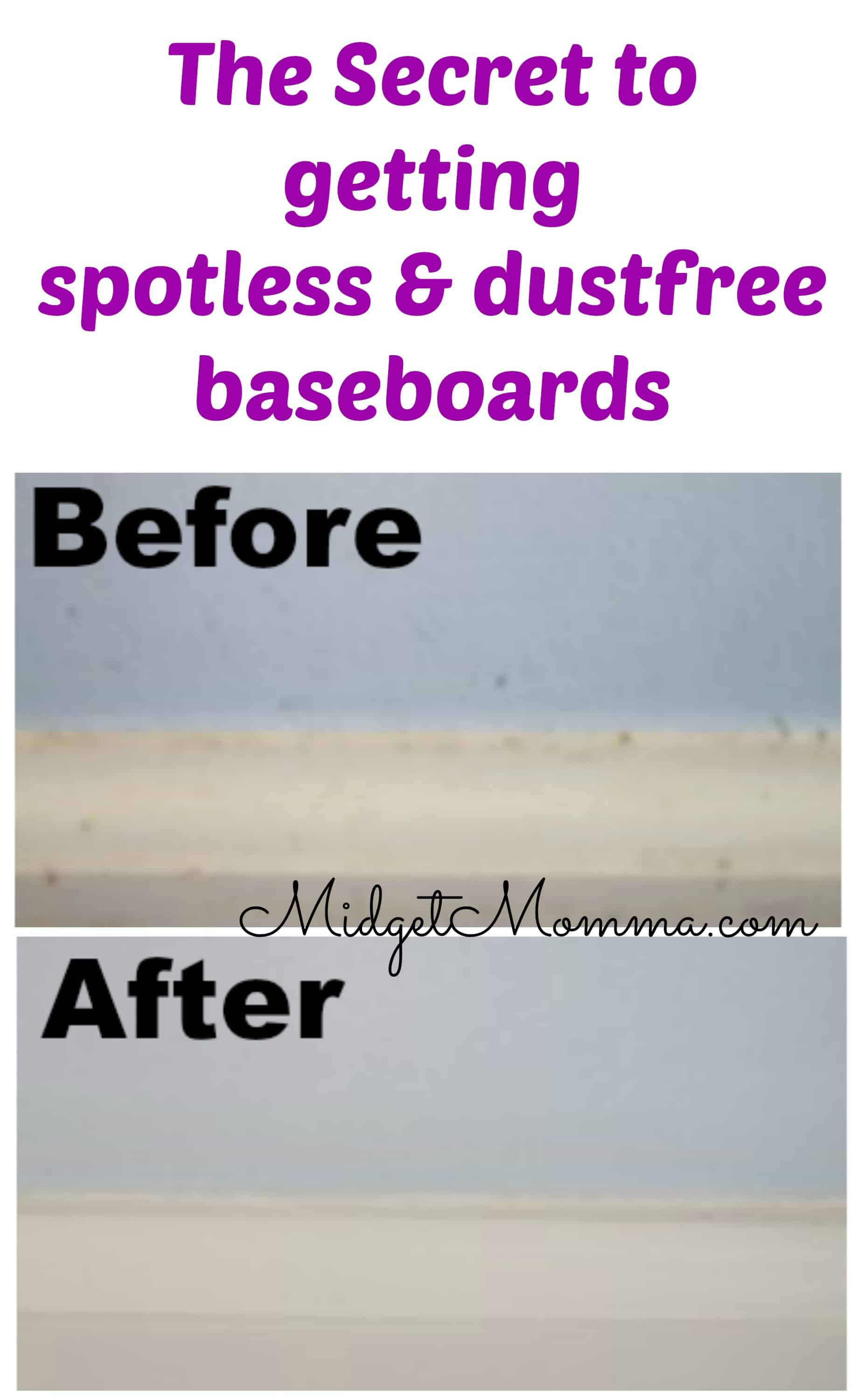 Easy Trick For How To Clean Baseboards Amp Keep Them Dust Free