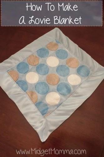 DIY Baby Lovie Blanket