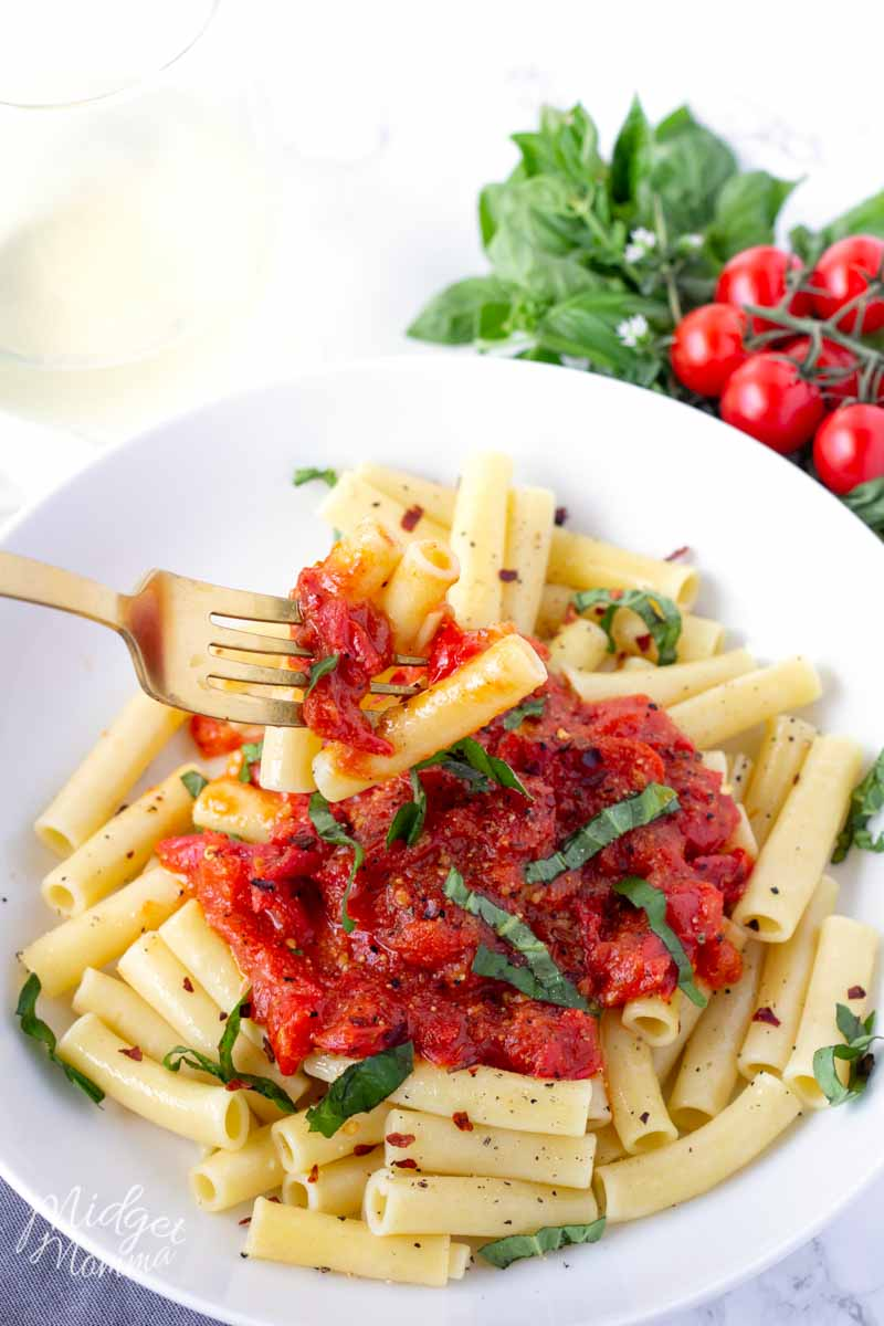 spicy pasta recipes