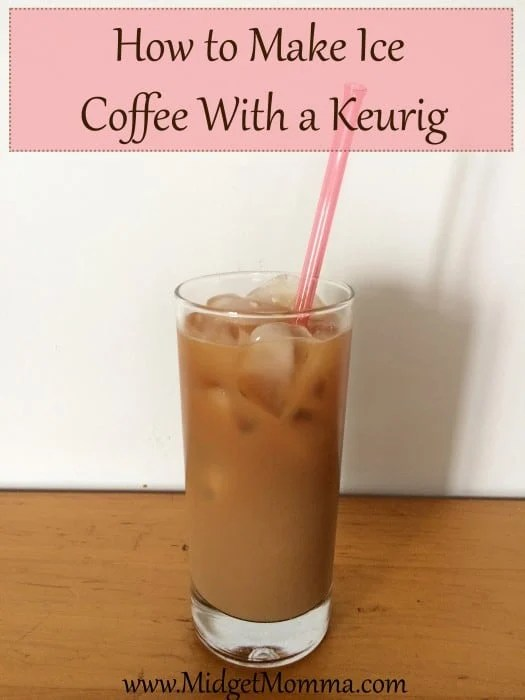 How to Make Ice Coffee With a Keurig with out buying the kcups or using kcups. You will never need to buy ice coffee kcups again.