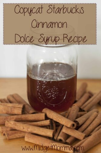 You will not have to leave your house to get your starbucks fix in with this Copycat Starbucks Cinnamon Dolce Syrup Recipe.