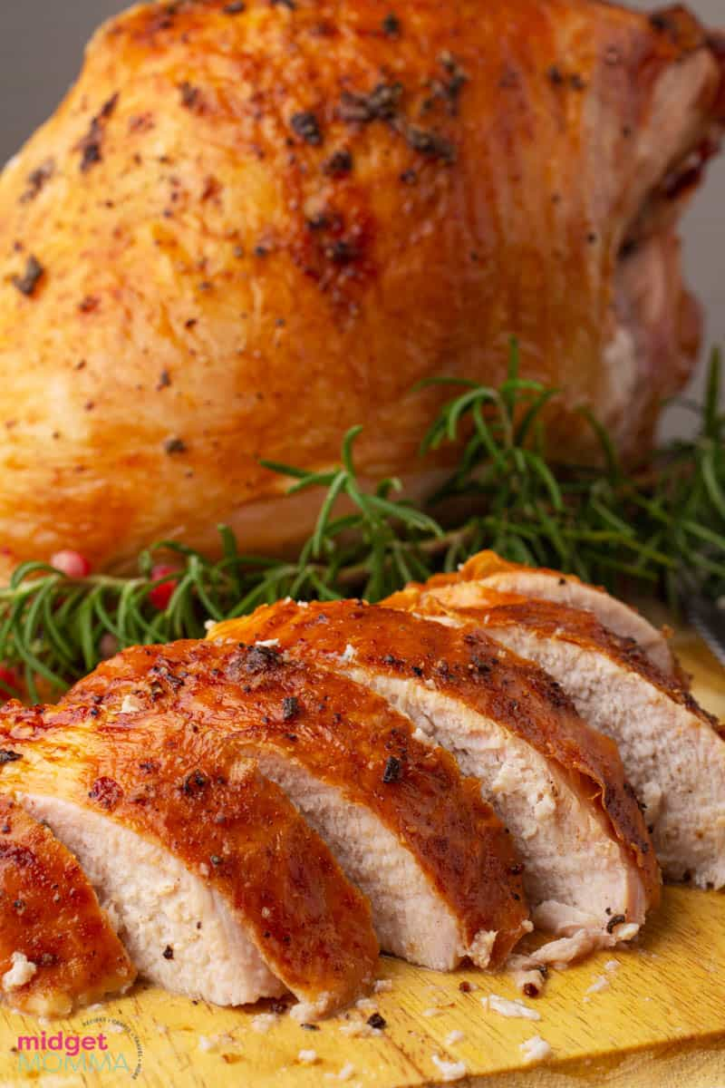Easy Oven Roasted Turkey Breast Recipe