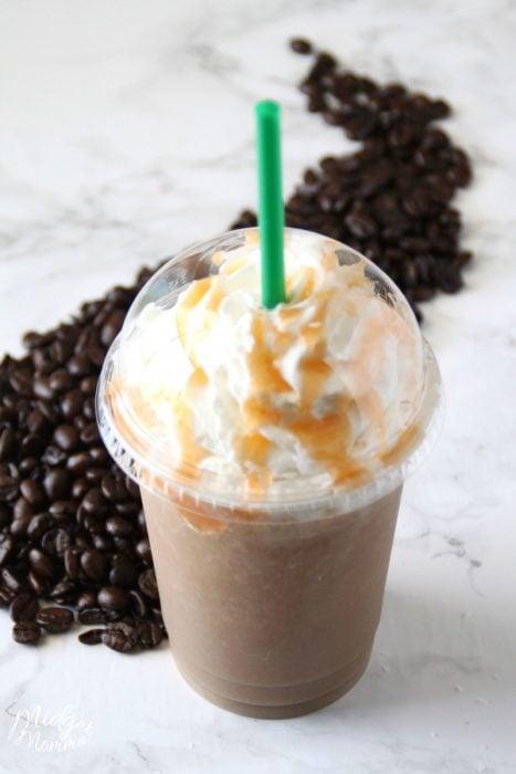 Salted Caramel Frappuccino Starbucks recipe