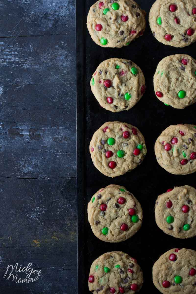 Chocolate Chip M&M's Cookies