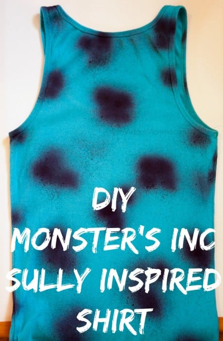 DIY Disney Sully Shirt