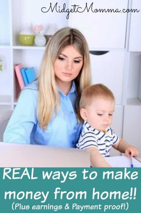 real ways to earn money from home