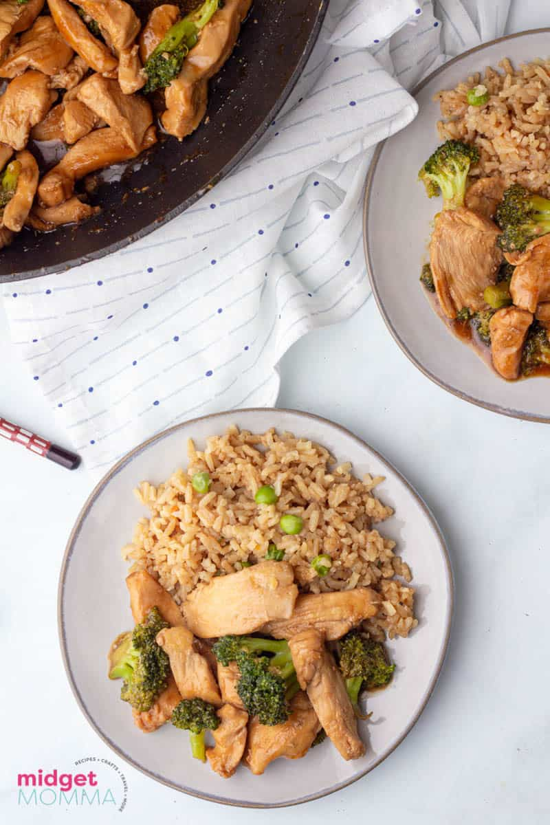 chicken and broccoli - chinese take out