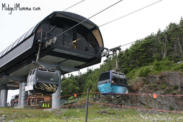 Gondola ride at killington