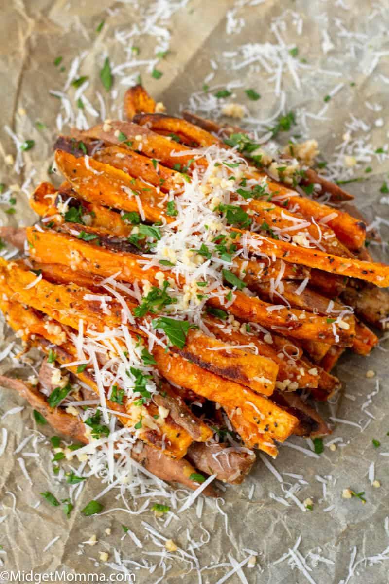 Parmesan Sweet Potato Fries