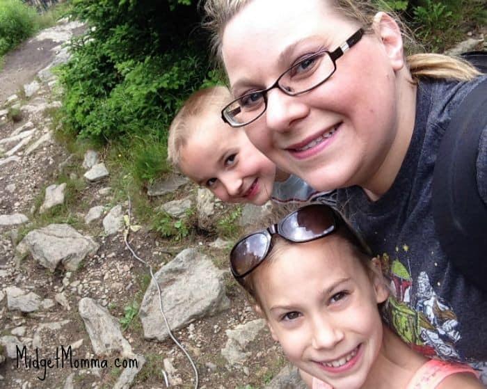 hiking kenzie logan mommy