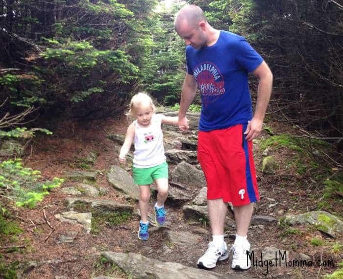 hiking killington vermont tom alyssa