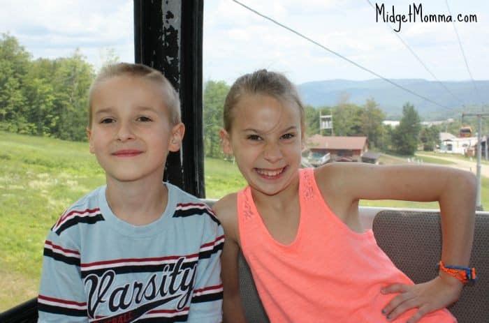 kenzie and logan gondola ride