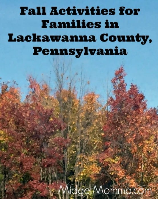 Fall Activities for Families in Lackawanna County, Pennsylvania