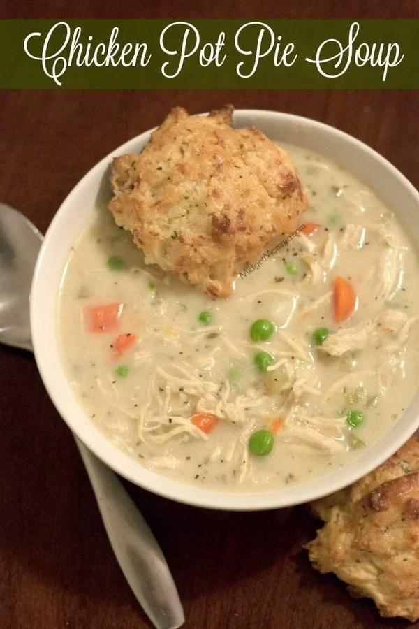 Chicken Pot Pie SoupE