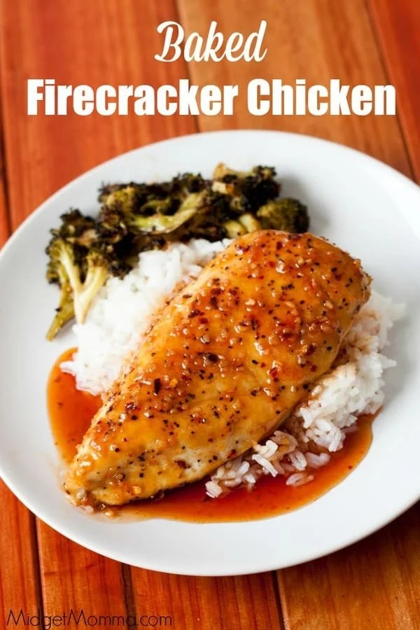 Baked Firecracker Chicken