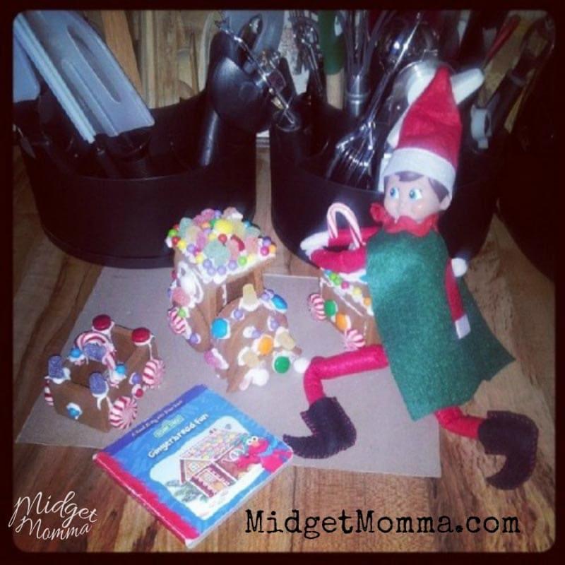 simple Elf on the Shelf Idea