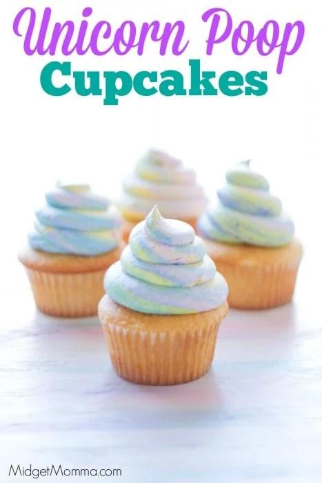 How to Make unicorn Poop Cupcakes