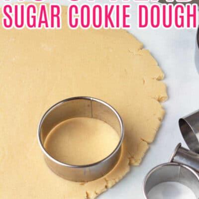 No Spread Sugar Cookies Recipe FOR BAKING COOKIES