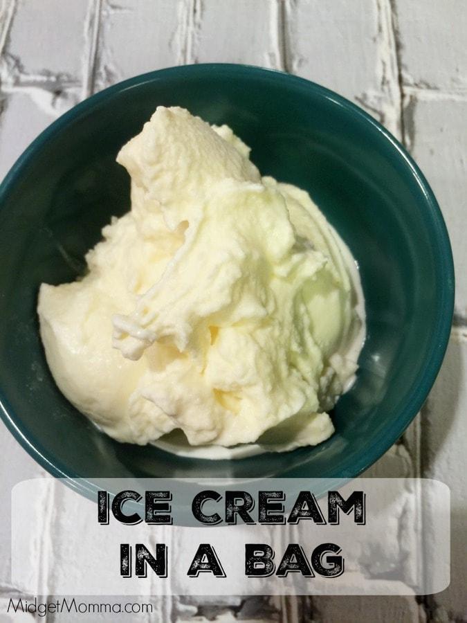 Homemade Ice Cream In A Bag Midgetmomma