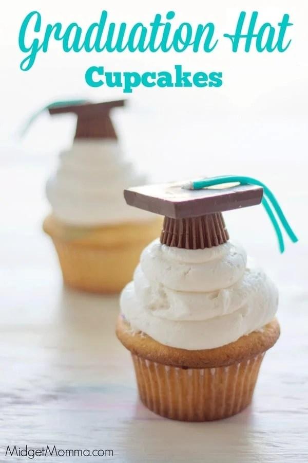 Easy Graduation Cap Cupcakes Midgetmomma