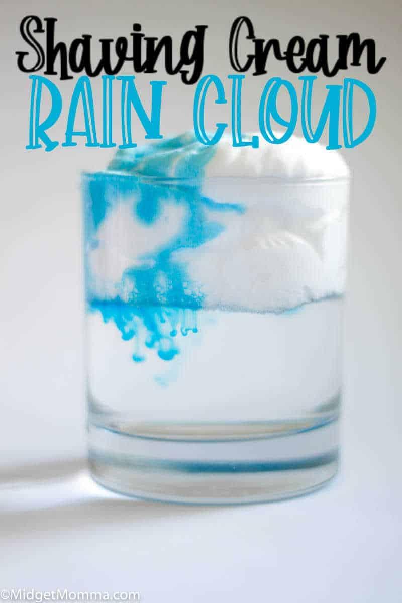 Rain Cloud science experiment