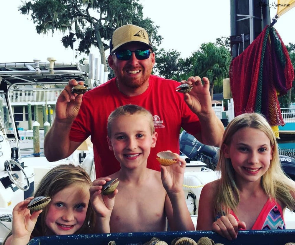 scalloping in crystal river florida