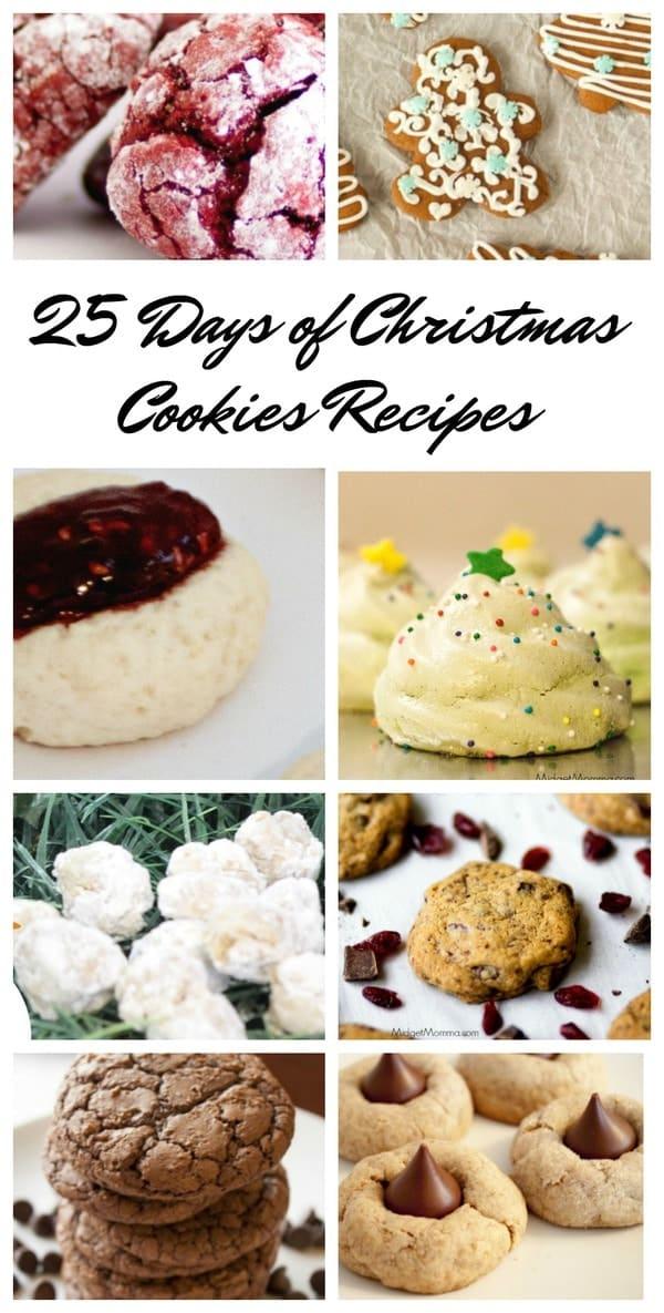 25 Days Of Christmas Cookies Recipes MidgetMomma